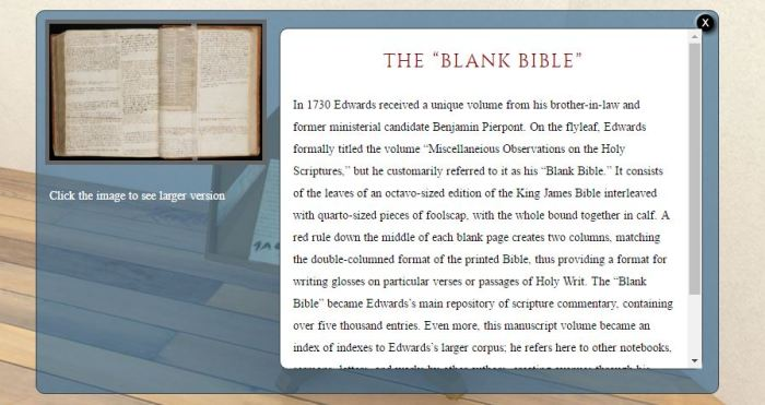 Edwards Blank Bible 3